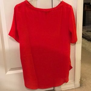 Banana Republic Tops - Red blouse